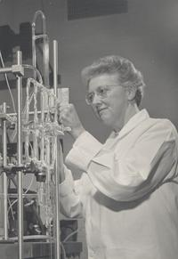 Lucy Pickett Conducting an Experiment