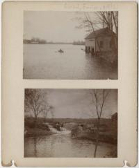 Collection of pictures of Mount Holyoke student life, buildings, campus, and surrounding area, by Emelyn Grant (x1895)