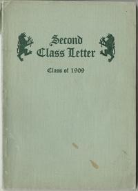 Second Class Letter Class of 1909, front cover with griffin emblem