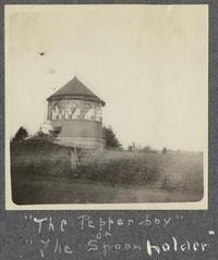 "The Pepper-box or ""The Spoon holder,"" from album of Doris A. Melchert, Class of 1911"
