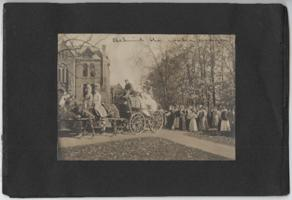 Behind the water wagon, collection of pictures from the Class of 1911