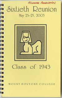 Class of 1943, 60th reunion booklet, front cover