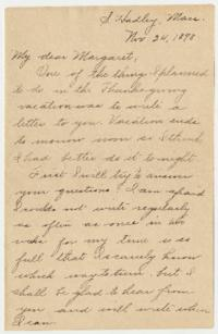 Letter and envelope from Caroline Henderson to Margaret Klim