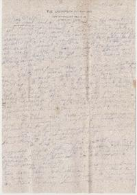 Letter from Eleanor Henderson to Caroline Henderson
