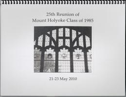 Class of 1985, 25th reunion booklet