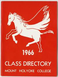 Class of 1966 Directory, with pegasus and lion emblems