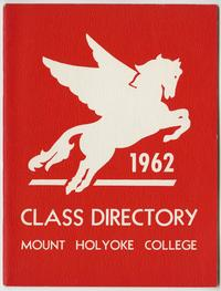 Class of 1962 Directory, with pegasus and lion emblems