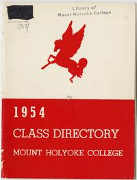 Class of 1954 Directory, with pegasus emblem