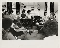 Meeting in the Black Alumnae Office