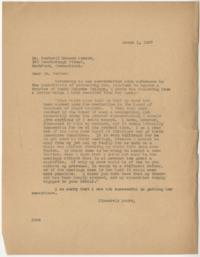Letter from Alva Morrison to the Rev. Rockwell Harmon Potter
