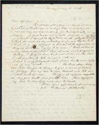 Letter from Orra Hitchcock and daughters, Catharine and Mary Hitchcock, to Mary Lyon (with transcript and notes to the letters)