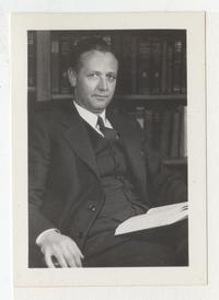 Edgar Furniss, College Trustee and member of the Committee of Nine