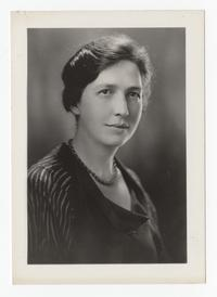 Mary Hume Maguire, Class of 1918 and College Trustee on the Committee of Nine