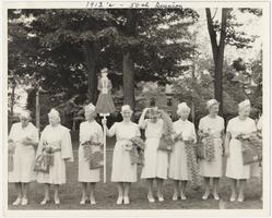 Members of the Class of 1912 at their 50th Reunion, group photograph