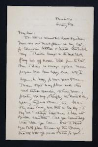 Correspondence from Jeannette Marks to Mary Woolley