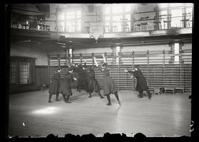 Basketball in Gymnasium 1902