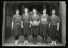 Junior Basketball Team 1921