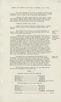 Minutes of the meeting of the Board of Trustees, June 18, 1932