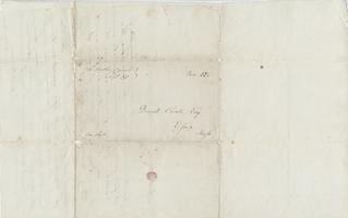 Mary Lyon and William Tyler letters to David Choate, September 30, 1835, with building plans