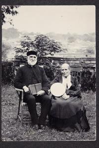 Hannah L. Plimpton Peet Hartwell with her husband Charles Hartwell