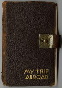 Diary kept by Jeanne Bird during trip through Europe, June through September 1939.