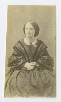 Mary Ann Caroline Ely '61, from Class of 1861 photograph album