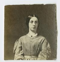 Charlotte Elizabeth Ely '61, from Class of 1861 photograph album