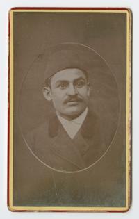 Hachig, a native of Sassoun (Sason), cabinet card portrait