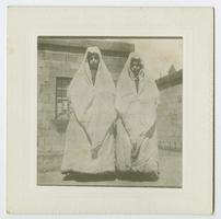 Rohan and Husniv, orphan sisters in Bitlis, Turkey, when Charlotte and Mary Ely were missionaries there