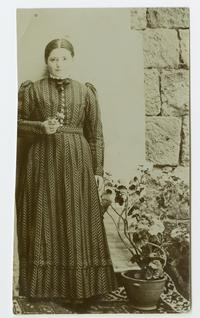 Azniv Kazanian, probably a student at the school in Bitlis, Turkey, founded by the Ely sisters