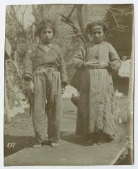 Peasant boy and girl in eastern Turkey when Charlotte and Mary Ely were missionaries there