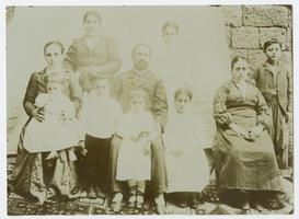 Armenian family group portrait, possibly taken in Bitlis, Turkey, when Charlotte and Mary A. C. Ely were missionaries there