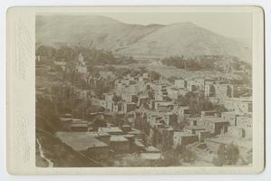 View of Bitlis, Turkey, where Charlotte and Mary Ely founded school