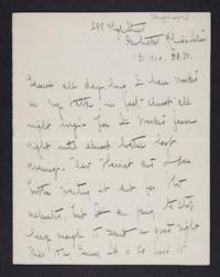 Letter from Mary Woolley to Jeannette Marks, 1904 January 31