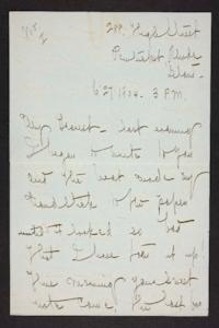Letter from Mary Woolley to Jeannette Marks, 1904 June 27
