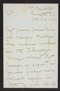 Letter from Mary Woolley to Jeannette Marks, 1904 June 29