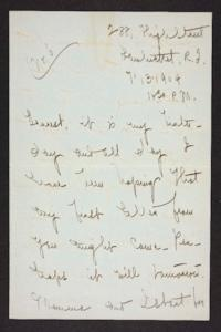 Letter from Mary Woolley to Jeannette Marks, 1904 July 13