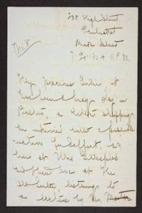 Letter from Mary Woolley to Jeannette Marks, 1904 July 20 and 1904 July 21