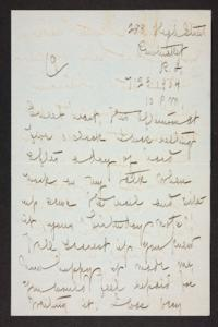 Letter from Mary Woolley to Jeannette Marks, 1904 July 23
