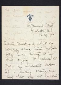 Letter from Mary Woolley to Jeannette Marks, 1904 December 27