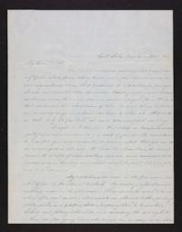 Letter from Sarah Fenn to Jerusha Moore, 1847 February 02