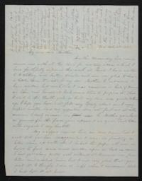Letter from Mary Atwood to Harriet Atwood, 1847 February 17