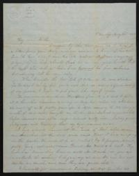 Letter from Mary Atwood to Prudence Atwood,1847 May 22