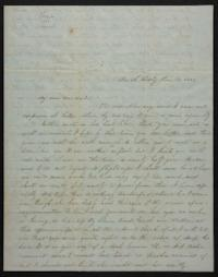 Letter from Mary Atwood to Harriet Atwood, 1847 June 16