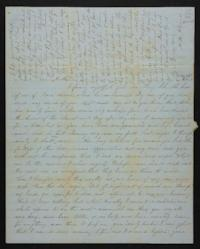 Letter from Mary Atwood to Prudence Atwood, 1847 July 22