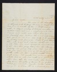 Letter from Eliza M. Harding to Eliza Harding (mother), 1844 October 06