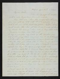 Letter from Eliza M. Harding to Eliza Harding (mother), 1845 April 15