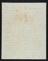Letter from Eliza M. Harding to Eliza Harding (mother) 1845 July 19