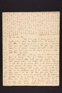 Letter from Julia Hyde to Lucy Goodale, 1839 December 12