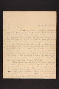 Letter from Julia Hyde to Lucy Goodale, 1840 April 25
